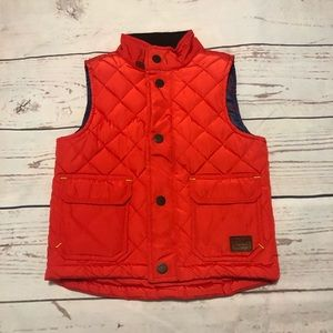 Baker By Ted Baker quilted vest 2Y